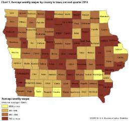 county employment and wages in iowa second quarter 2014
