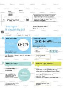 utility bill template uk documents bank statements utility bills