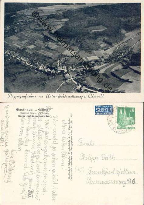 unter schönmattenwag historische ansichtskarten heidelberg umgebung