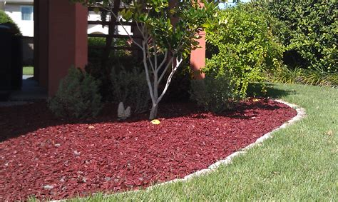 Garden Mulch by Rubber Mulch For Rubber Mulch And