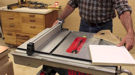 miter  table  accuracy check youtube
