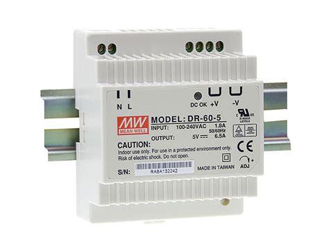 Power Supply Well Dra 60 Psu dr 60 24 well dr6024 datasheet