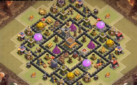 coc layout anti gowipe th8 base war th 8 terkuat anti hog dan dragon lafabrika org