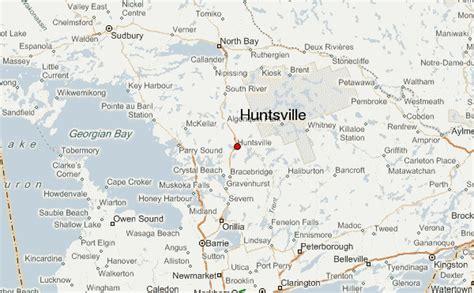 huntsville canada location guide