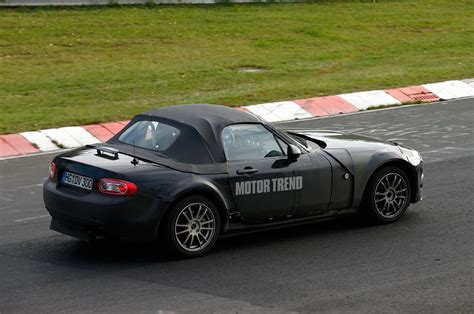 Alfa Romeo Miata by Mazda Mx 5 Miata Alfa Romeo Prototype Rear Three Quarter