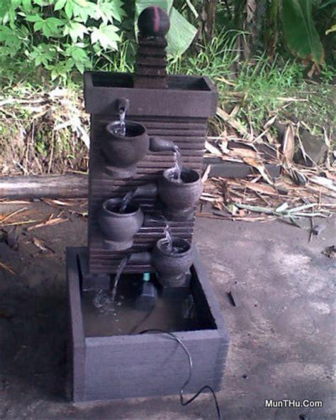 Pompa Air Kolam Taman Jual Kerajinan Batu Kolam Air Mancur Luas 40 215 45 Cm Tinggi