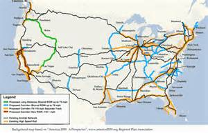 united states rail map passenger railroads in the united states