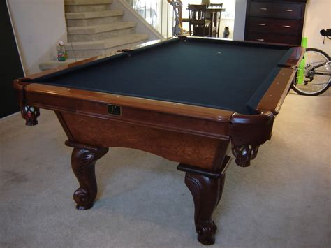how much is a pool table how much is a kasson 8 pool table worth