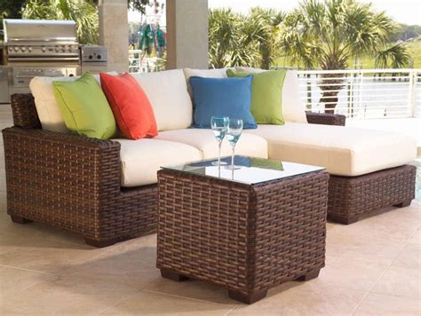 patio sectional sets wicker sectional patio furniture chicpeastudio