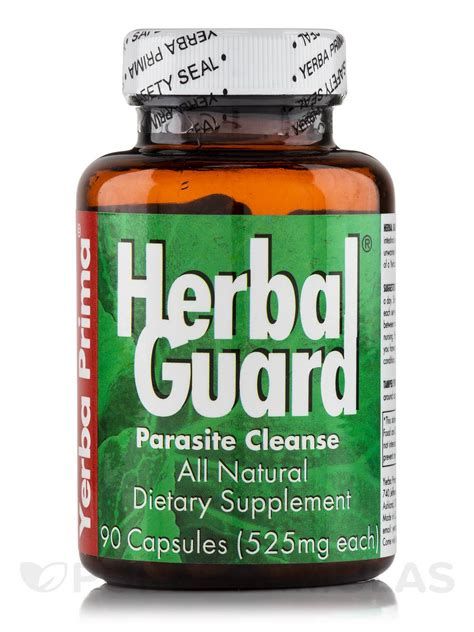 Herbal Parasite Detox by Herbal Guard Parasite Cleanse 90 Capsules