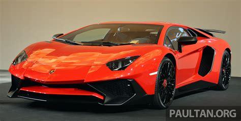 Lamborghini 750 Sv by Lamborghini Aventador Lp750 4 Superveloce Makes Asean