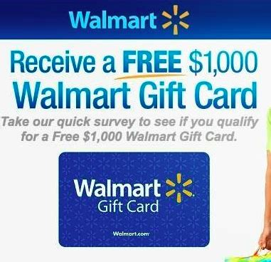 Walmart Survey Sweepstakes - enter to win a 1 000 walmart gift card in walmart survey sweepstakes