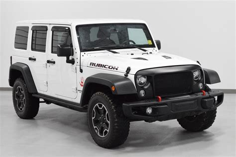 Used Rubicon For Sale by Used 2016 Jeep Wrangler Unlimited Rubicon Rock For