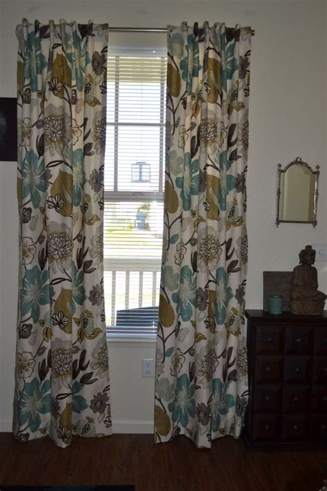 large pattern curtains hand made custom curtains large floral pattern gorgeous