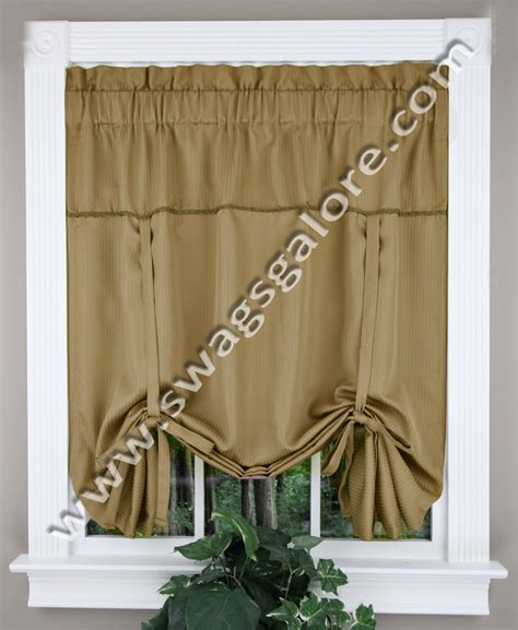 metro tie up burgundy kitchen valances