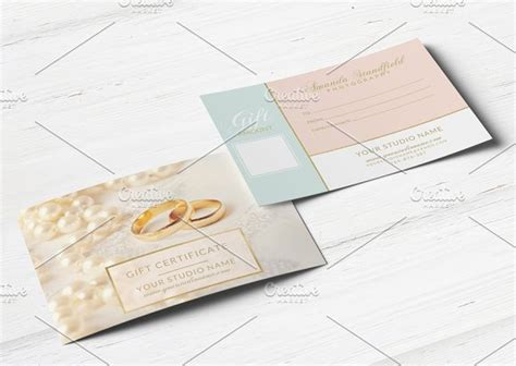 Cfc Gift Card - pastel gift card card templates on creative market