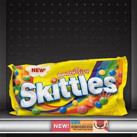 brightside skittles  junk food aisle