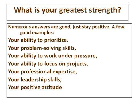 Greatest Strengths Mba mba mock