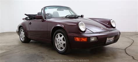 Porsche 964 Cabriolet Price by 1991 Porsche 964 Cabriolet Beverly Hills Car Club