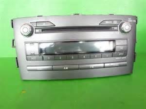 Toyota Radio Parts Toyota Auris Radio Stereo Cd Mp3 Player 86120 1a240