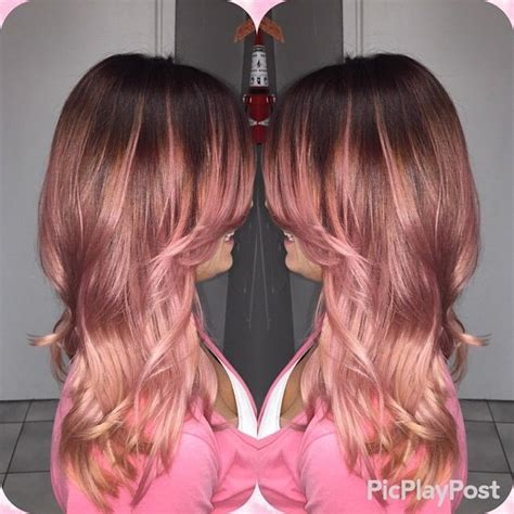 rose gold hair pravana 17 best images about makeup beauty on pinterest lime