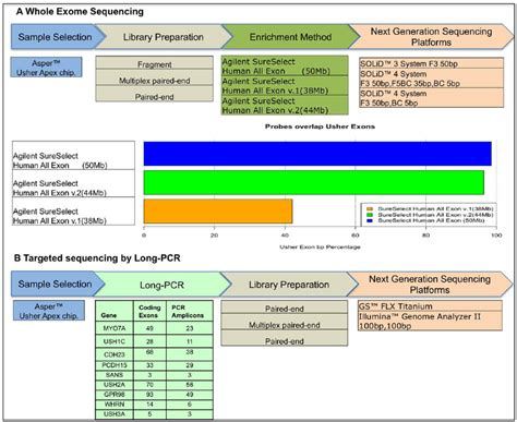 exome sequencing illumina workflow of the next generation sequencing strategies used