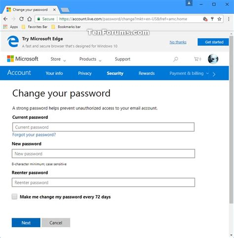 pattern password disable tutorial enable or disable password expiration for your microsoft
