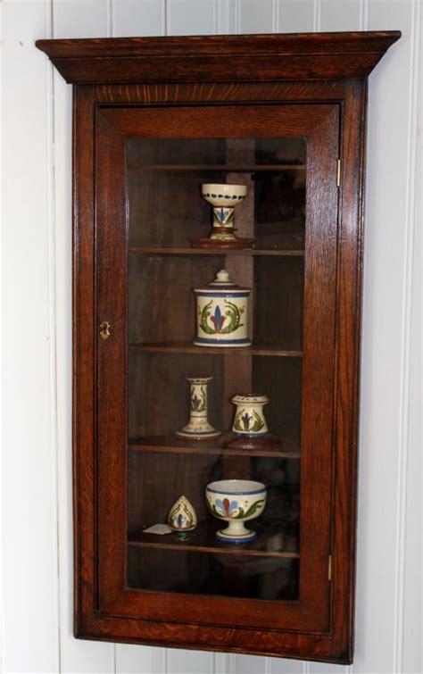 small oak wall cabinet small solid oak corner wall cabinet 168562