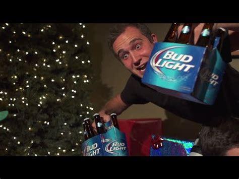 budlight xmas commercials bud light commercial
