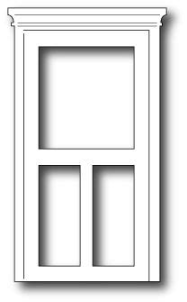 window templates for card classic screen door die cards windows