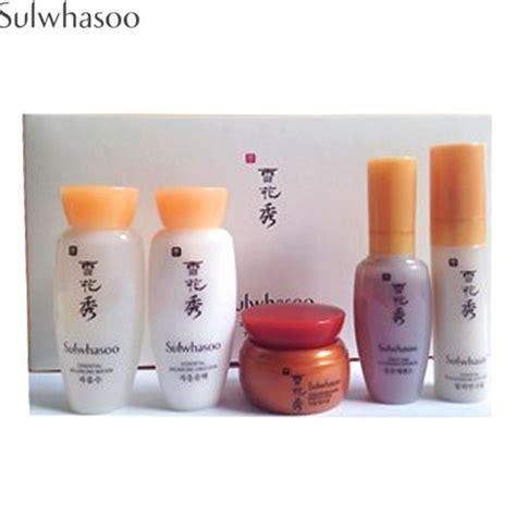 Sulwhasoo Basic Kit 5 Items 2 box korea mini sulwhasoo basic kit 5 items