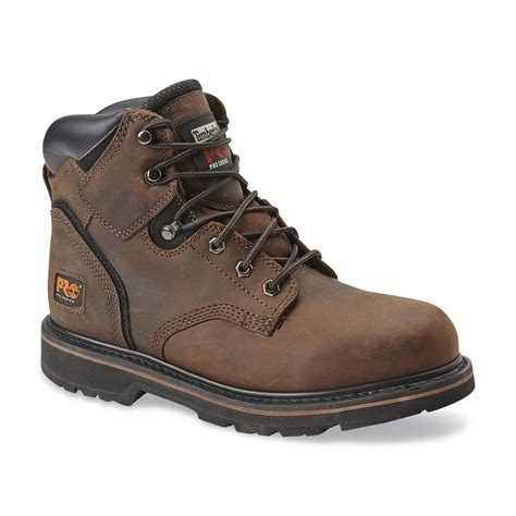 steel toed boots for timberland pro s pit 6 quot steel toe work boot 33034