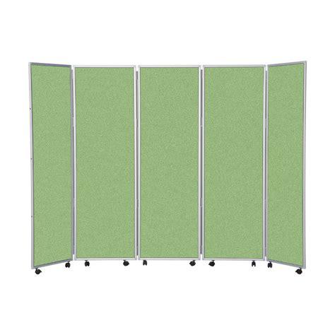 Easy Room Divider 1800mm High Easy Clean Mobile Concertina Room Divider