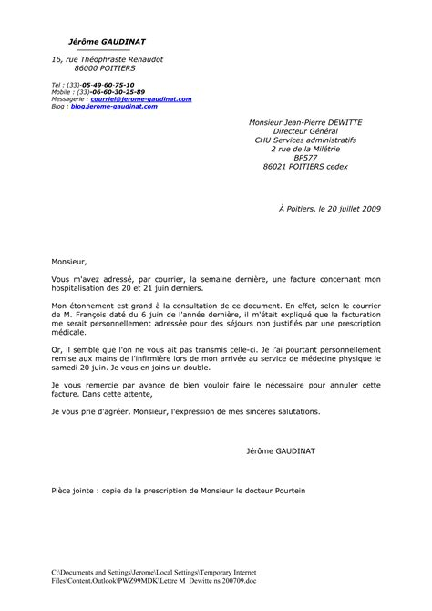 Lettre De Remerciement Hospitalisation exemple lettre remerciement hopital covering letter exle