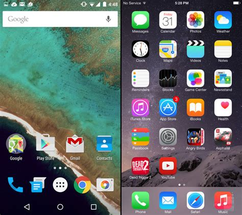 android 5 0 lollipop contro ios 8 1 la grafica a