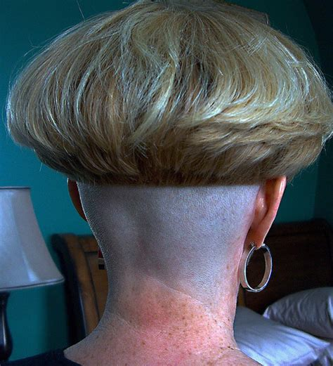 bowl haircut shaved nape her freshly coiffed bowl cut by bowlcutzac on flickr her