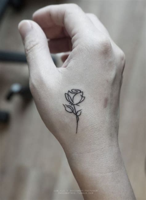 rose strength tattoo 20 catchy small designs with strong meaning