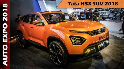 tata hx tata harrier suv revealed overview  hindi youtube
