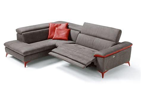 divani egoitaliano divano con penisola in microfibra martine di