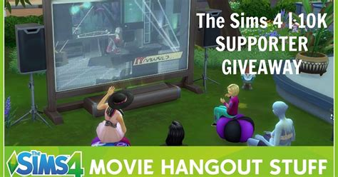 Sims 4 Giveaway - the sims 4 10k supporter giveaway dinha