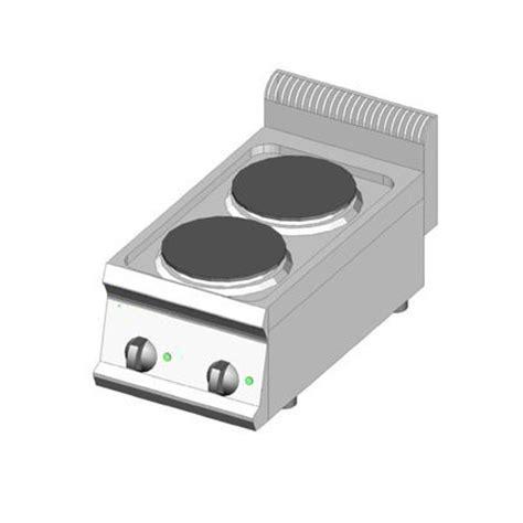 piano cottura piastre elettriche piano cottura elettrico 2 piastre 35x70 dom macchine
