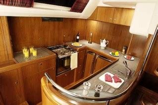 yacht galley layout sailing yacht mustique vt halmatic luxury yacht