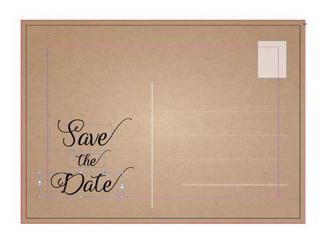 How To Create A Stylish Save The Date Card In Adobe Indesign Save The Date Indesign Template