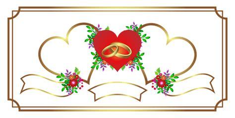 clipart matrimonio gratis free illustration invitation wedding gold free