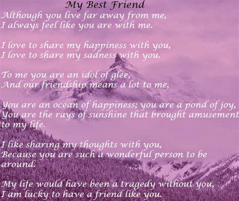 best poems in poem quot my best friend quot