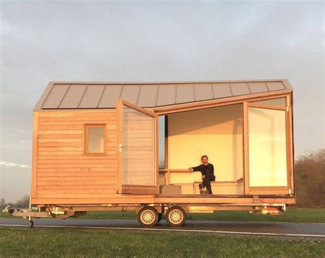 house on wheels porta palace modern tiny house on wheels