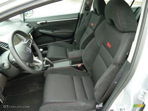 black interior 2011 honda civic si sedan photo 51885365