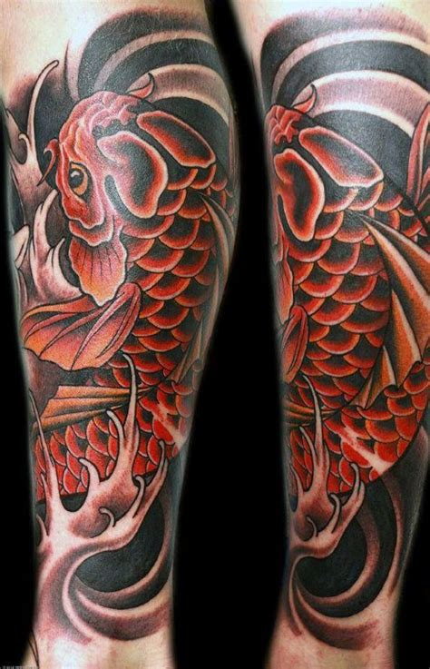 koi fish tattoo swimming downstream meaning 125 koi fish tattoos with meaning ranked by popularity