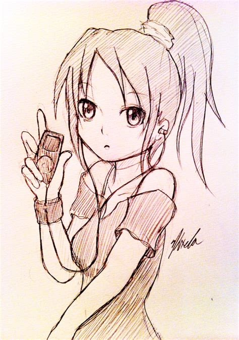 Anime Sketches anime sketch 1 by kxela on deviantart