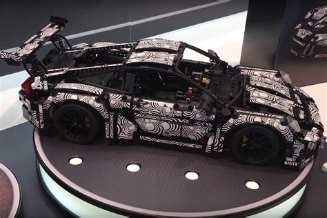 technic porsche the technic porsche 911 gt3 rs looks almost like the